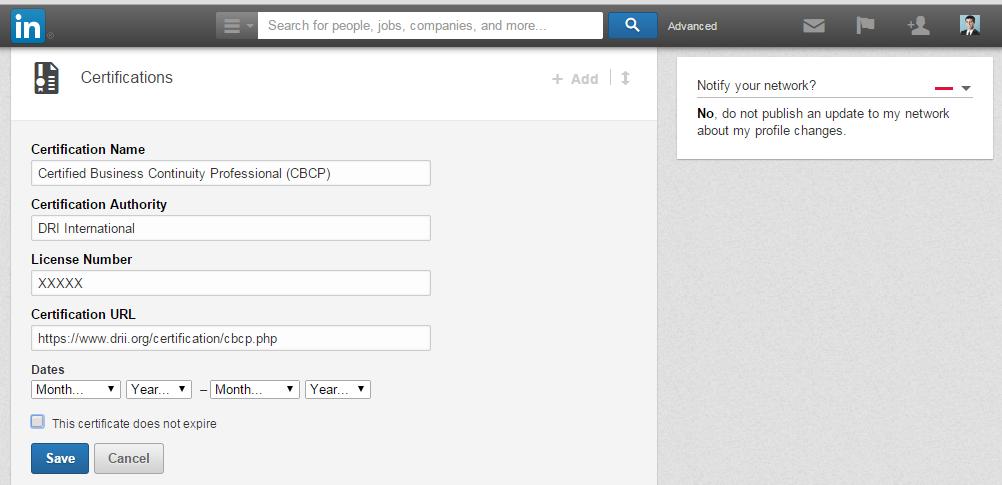 DRI Drive | Add DRI Certification to Your LinkedIn Profile in 5 Easy ...