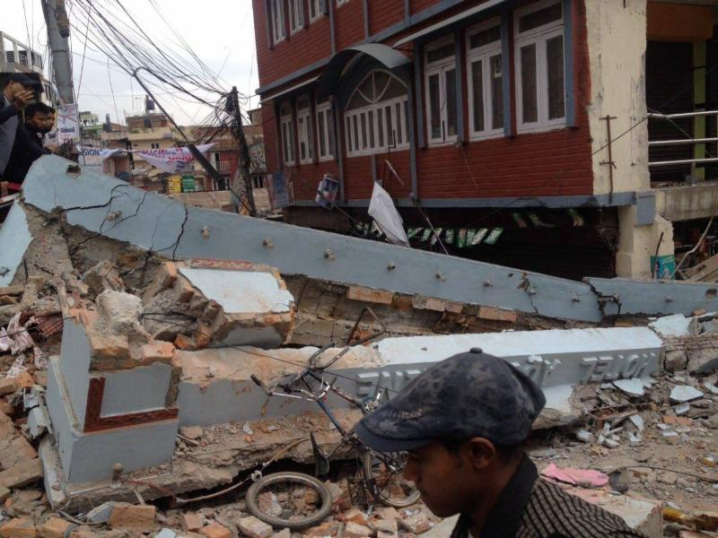 Photo Credit: Nepal Earthquake 2015 Aftermath, Krish Dulal