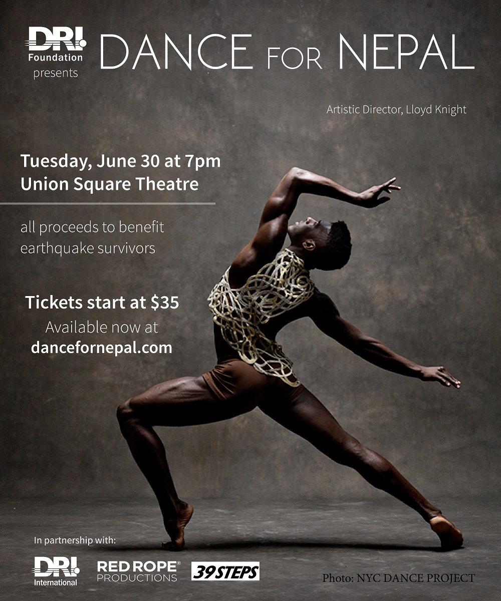 Dance for Nepal Flyer Complete