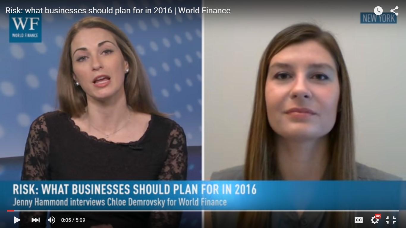World Finance Interview Screenshot