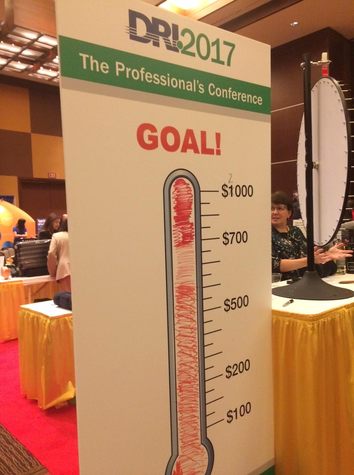 DRI Foundation Fundraising Goal